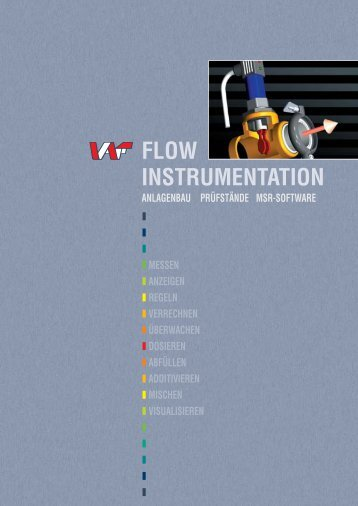 FLOW INSTRUMENTATION - VAF Fluid-Technik GmbH