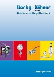 Mess- und Regeltechnik - Barby + Kühner GmbH
