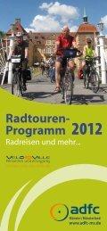 Radtouren- Programm 2012 - beim ADFC