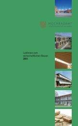 Leitlinien zum wirtschaftlichen Bauen 2011 (pdf ... - Frankfurt am Main