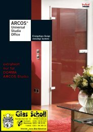 DORMA ARCOS Studio Produktkatalog