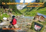 De vakantiekrant van Zwitserland zomerseizoen 2011 - Clarezia