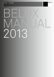 Preisliste von BELUX - MILANO