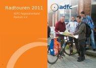 Radtouren 2011 - ADFC Rostock