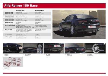 Alfa Romeo 159 Race - MS-Design