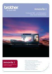 PDF Prospekt herunterladen - Nähmaschinen, Patchwork, Stoffe ...