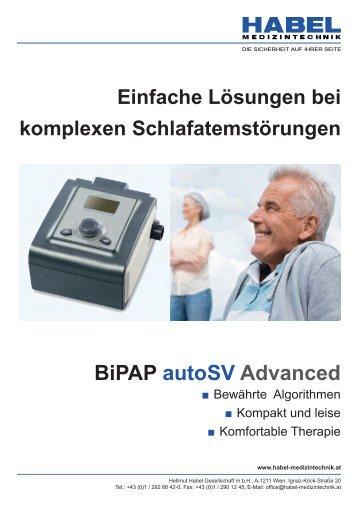 BiPAP autoSV Advanced - HABEL Medizintechnik