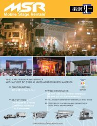 SL100 PDF Brochure - MSR Mobile Stage Rentals