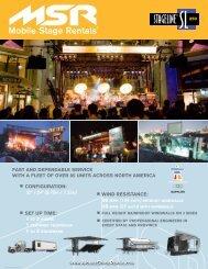 SL250 PDF Brochure - MSR Mobile Stage Rentals