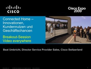 Networking - Cisco Systems Schweiz