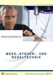 Branchendokument Mess-, Steuer- und Regeltechnik - bw-jobs.de