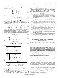 On extending the complex FastICA algorithm to noncircular - UMBC