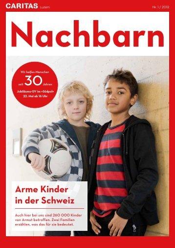 Arme Kinder in der Schweiz - Caritas Luzern