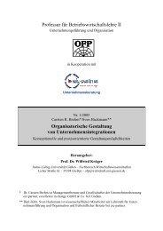 Organisationsintegration - Org-Portal.org