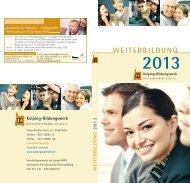 Programmheft 2013 - Kolping-Bildungswerk Diözesanverband Köln ...