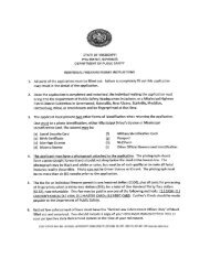 Individual Firearms Permit Application Package - Mississippi ...