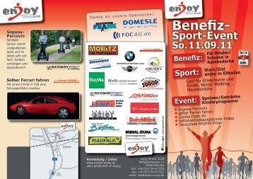 Benefiz: Sport - studio-enjoy   fitness & wellness CLUB