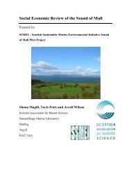 Sound of Mull Socio-economic Final Report - Argyll Charter Boat ...