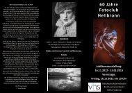 Flyer 60 Jahre Fotoclub HN_klein - Fotoclub Heilbronn