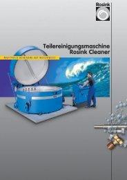 Teilereinigungsmaschine Rosink Cleaner