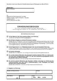 ERHEBUNGSBOGEN - Stadt Hattersheim