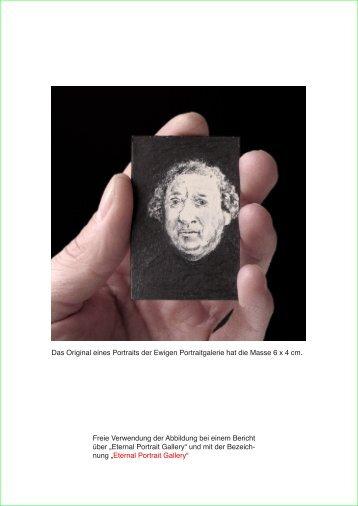 Pressebilder: Download PDF - Eternal Portrait Gallery