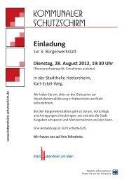 Kommunaler Schutzschirm - Stadt Hattersheim