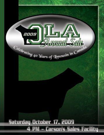 69572 OLA Sales SC:Layout 1.qxd - Ontario Limousin Association