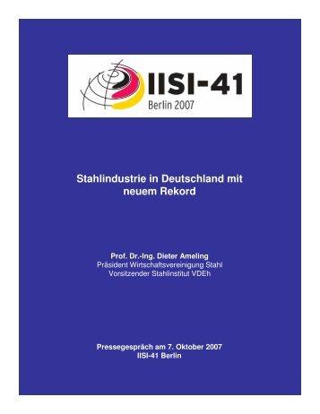Deckblatt Presse 1 - Stahl-Online
