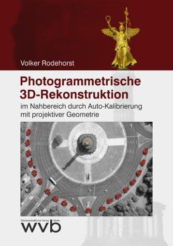 Photogrammetrische 3D-Rekonstruktion im Nahbereich durch ...
