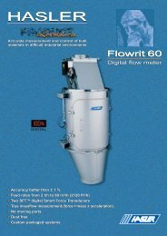 Flowrit 60 - Hasler International S.A.