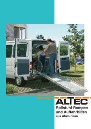 Rollstuhl-Rampen und Auffahrhilfen - Altec GmbH