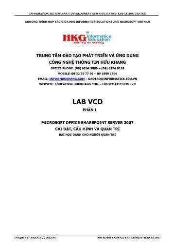 Microsoft Office SharePoint Server 2007 - SIMT.EDU.VN!