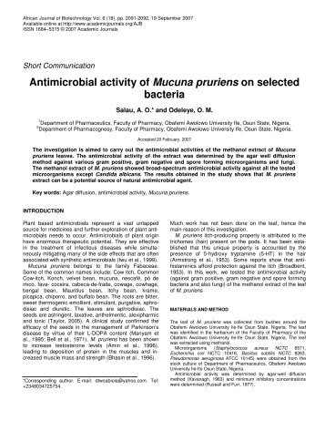 antimicrobial activity of soil against bacterial Studies on antimicrobial activity of actinomycetes against mdr wound bacterial isolates mine soil, screening of.