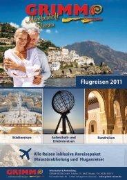 Flugreisen 2011 - Grimm Reisen