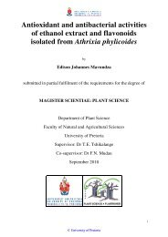 Antioxidant and antibacterial activities of ethanol extract and ...