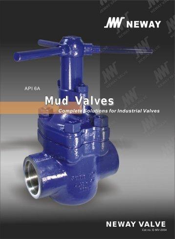 Mud Valves - Neway Valve