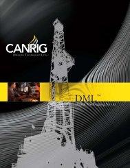 DML ™ Digital Mudlogging Service - Canrig Drilling Technology Ltd.
