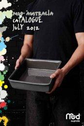 mud australia catalogue july 2012