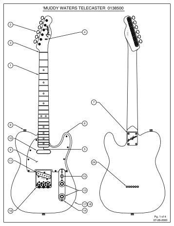 Schematic Jack Fender Wiring 0056055000 - Wiring Diagrams Schematics