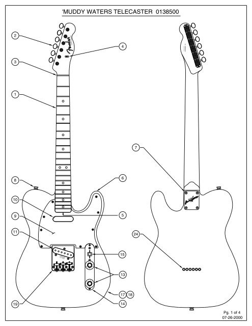 72 Telecaster Thinline Wiring Diagram