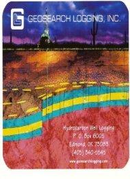 View - Geosearch Logging, Inc.