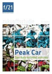 Peak Car. Das Auto erfindet sich neu - f/21