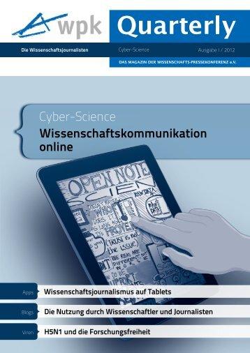 PDF zum Download: WPK-Quarterly I 2012