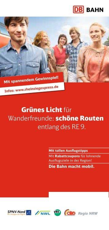 RE 9 Wandertouren 2012 - VRS
