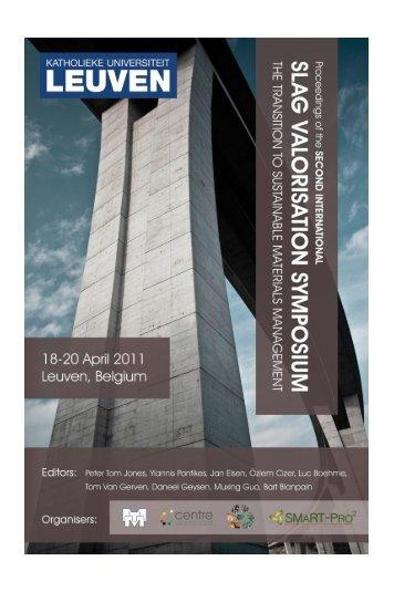 Paper - Third International Slag Valorisation Symposium
