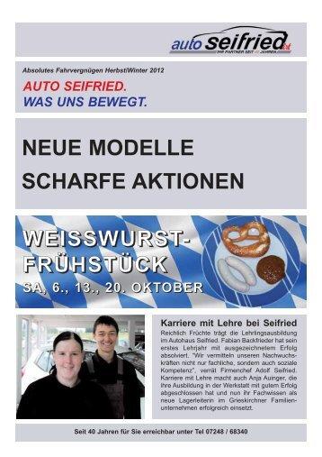 Lesen Sie mehr - Auto Seifried