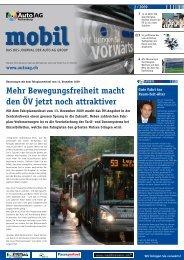 Mehr Bewegungsfreiheit macht den ÖV jetzt noch attraktiver - Auto AG