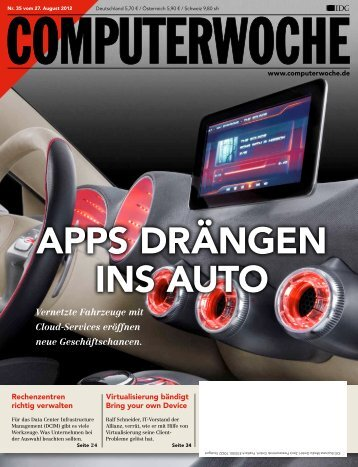 APPS DRÄNGEN INS AUTO