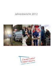Jahresbericht 2012 - Feuerwehr Obernburg